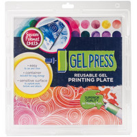 Gel Press Reusable Printing Plate 12''x12''
