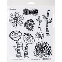 Dylusions - Cling Stamp Collections, Everything's Rosy