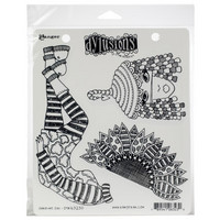 Dylusions - Cling Stamp Collections, Sunshine Girl