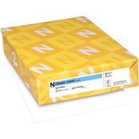 Neenah Classic Crest Solar White, valkoinen, 110lb, 10ark