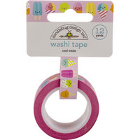 Doodlebug - Washi Tape, Cool Treats, 15mmX11m