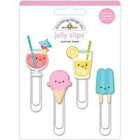 Doodlebug - Jelly Clips, Summer Treats, 4 kpl