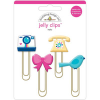 Doodlebug - Jelly Clips, Hello, 4 kpl
