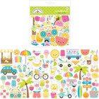 Doodlebug - Odds & Ends Die-Cuts, Sweet Summer, 80 osaa