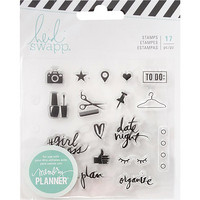 Heidi Swapp - Memory Planner Clear Stamps, Fresh Start, Everyday