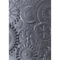 Sizzix - 3D Texture Fades Embossing Folder By Tim Holtz, Kohokuviointitasku, Mechanics