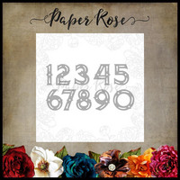 Paper Rose - Zara Numbers, Stanssi