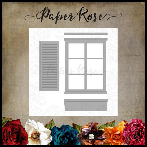 Paper Rose - Window & Accessories, Stanssi
