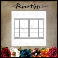 Paper Rose - French Door Background, Stanssi