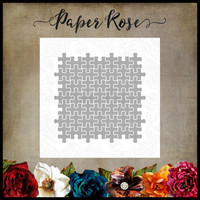 Paper Rose - Jigsaw Puzzle, Stanssisetti