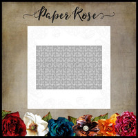 Paper Rose - Puzzle Photo Size, Stanssisetti