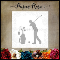 Paper Rose - Golfing Set, Stanssisetti