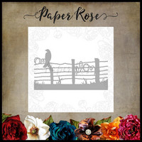 Paper Rose - Bird On Wire Fence, Stanssi