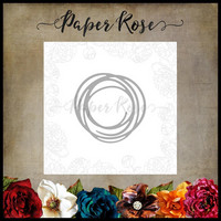 Paper Rose - Small Scribble Circle, Stanssi