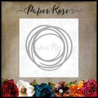 Paper Rose - Large Scribble Circle, Stanssi