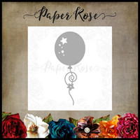 Paper Rose - Balloon With Streamers, Stanssi
