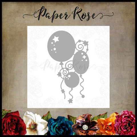 Paper Rose - Bunch Of Balloons, Stanssi