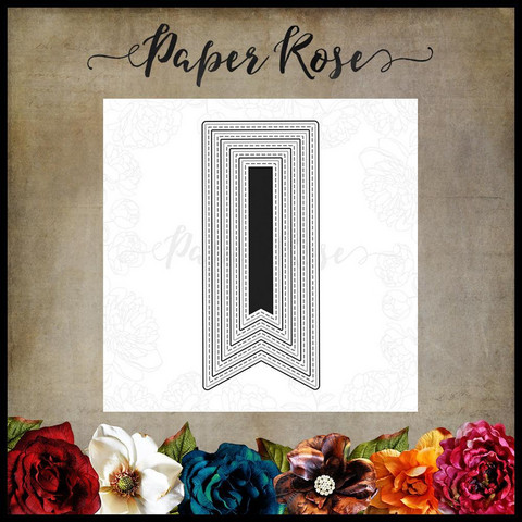Paper Rose - Banner 1, Stanssisetti