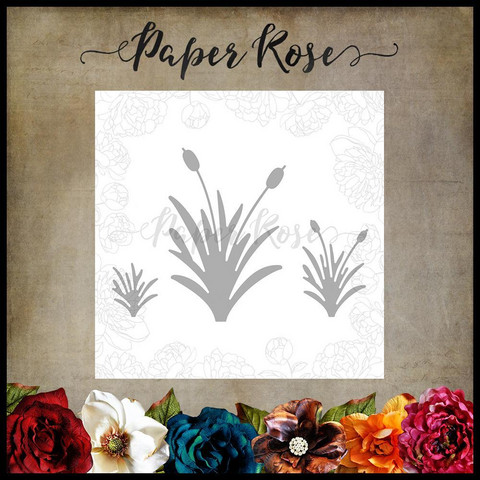 Paper Rose - Grass Bushes, Stanssisetti