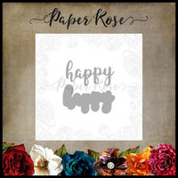 Paper Rose - Happy Layered, Stanssisetti