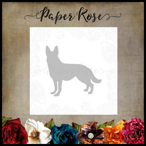 Paper Rose - Standing Dog, Stanssi