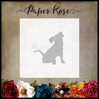 Paper Rose - Sitting Dog, Stanssi
