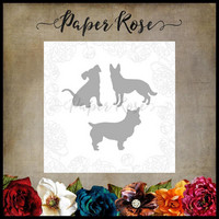 Paper Rose - Three Little Dogs, Stanssisetti