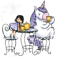 Stamping Bella - Rosie & Bernie Have A Tea Party, Leima