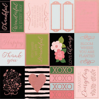 Kaisercraft - Full Bloom Foiled Cardstock 12