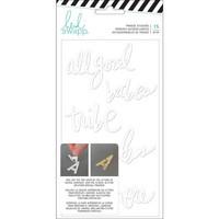 Heidi Swapp - Hawthorne Double-Sided Foam Stickers, Words, 15 kpl