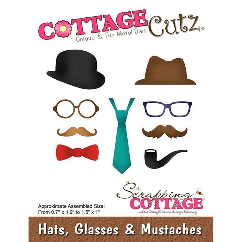 Cottage Cutz - Hats, Glasses & Mustaches, Stanssi