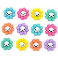 Dress It Up - Happy Little Flowers, Koristenappisetti