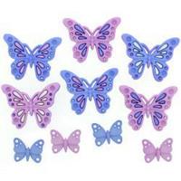 Dress It Up - Sweet Butterflies, Koristenappisetti