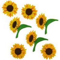 Dress It Up - Sunflowers, Koristenappisetti