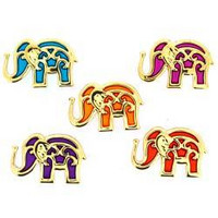 Dress It Up - Bollywood Elephants, Koristenappisetti