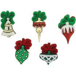 Dress It Up - Christmas Ornaments, Koristenappisetti