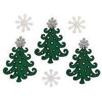 Dress It Up - Whimsical Christmas, Koristenappisetti