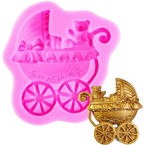 Silikonimuotti, Baby Carriage