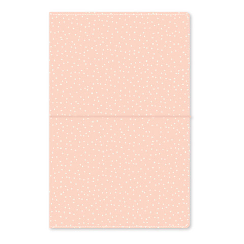 Simple Stories - Carpe Diem Traveler's Notebook, Blush Speckle