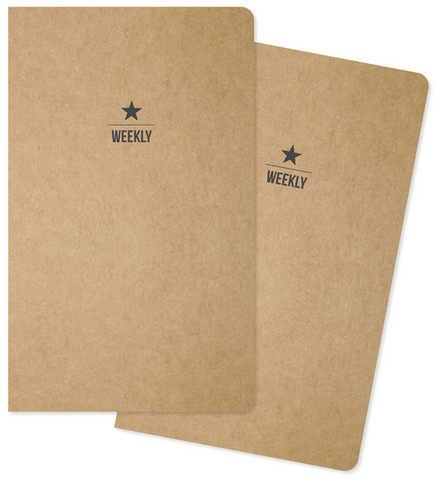 Simple Stories - Carpe Diem Weekly Traveler's Notebook Inserts, 2 kpl
