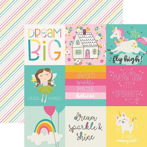 Simple Stories - Dream Big Double-Sided Cardstock 12