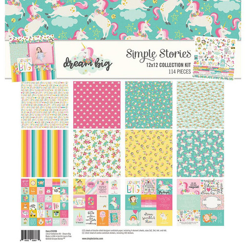 Simple Stories - Collection Kit, Dream Big, 12