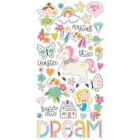 Simple Stories - Dream Big Chipboard Stickers 6