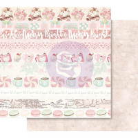 Prima Marketing - Santa Baby Pink Foil, Let It Snow, 12