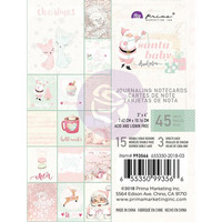Prima Marketing - Santa Baby Journaling Notecards, 3