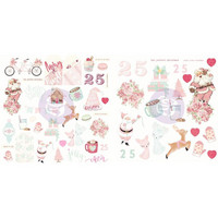 Prima Marketing - Santa Baby Ephemera Cardstock & Acetate Die-Cuts, 61osaa