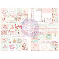 Prima Marketing - Santa Baby Stickers, Words & Quotes, Tarrasetti