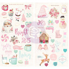 Prima Marketing - Santa Baby Chipboard Stickers, 6