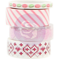 Prima Marketing - Santa Baby Decorative tape, 4 rullaa