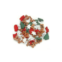 Dress It Up - Christmas Miniatures, Koristenappisetti